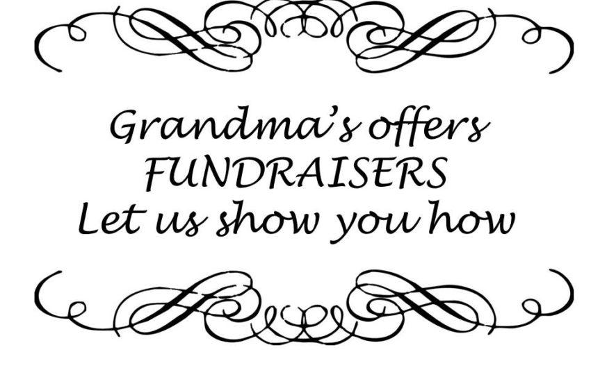 Grandma's Fundraiser
