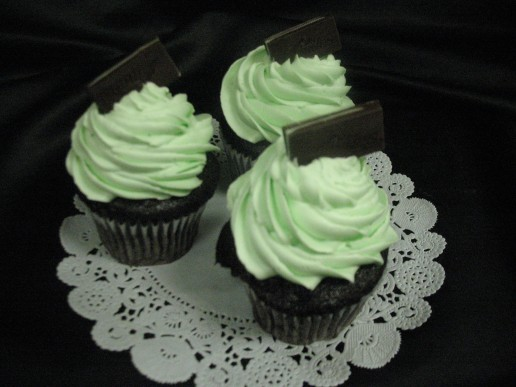 Shamrock Gourmet Cupcakes