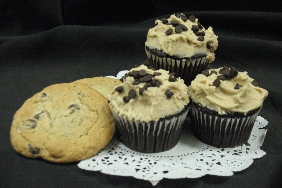 Cookie Dough Gourmet Cupcakes