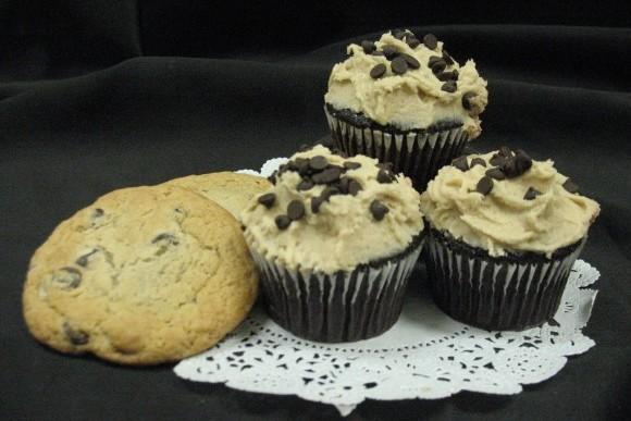 Cookie Dough Gourmet Cupcakes 1