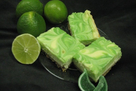 Key Lime Cheesecake Bars 1