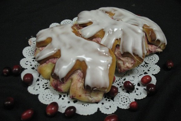 Cranberry and Cream Bear Claw