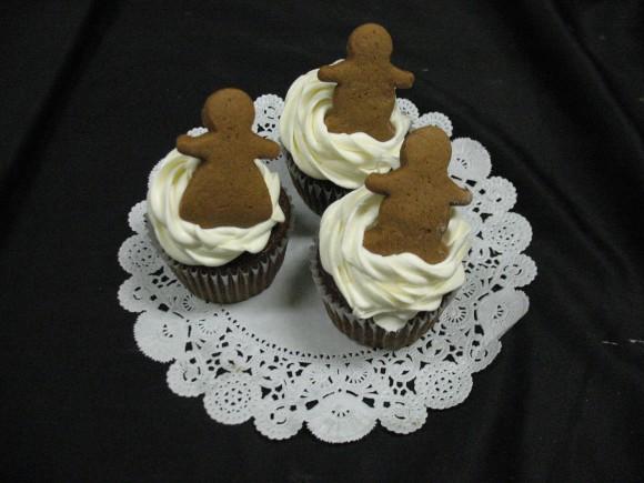 Gourmet Gingerbread Cupcake