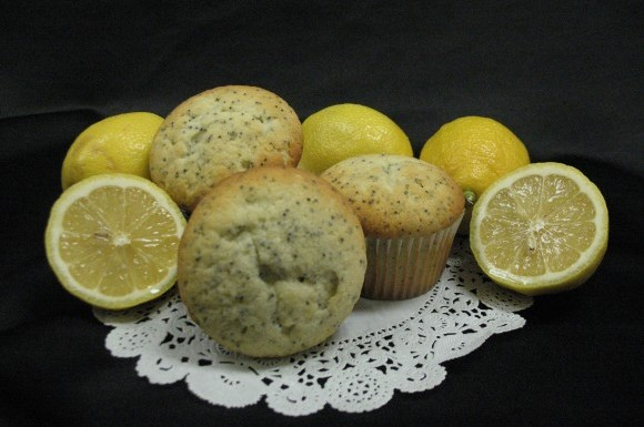 Lemon Poppyseed Muffin 1