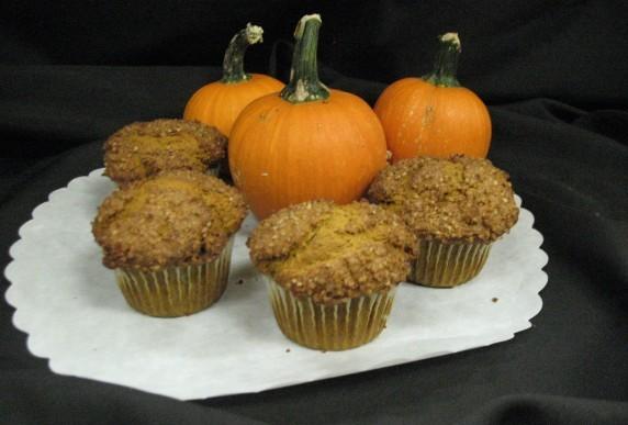 Pumpkin Walnut Muffin