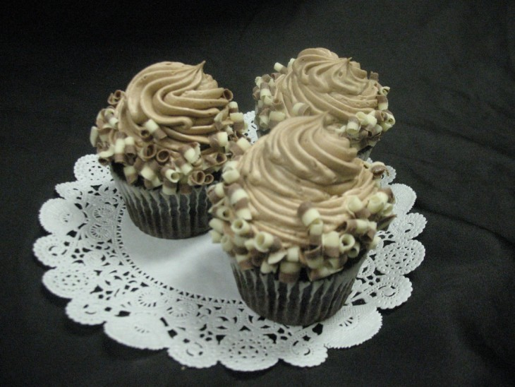 Death by Chocolate Gourmet Cupcake 1