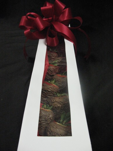Long Stemmed Chocolate Covered Strawberries