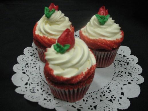 Red Velvet Gourmet Cupcake
