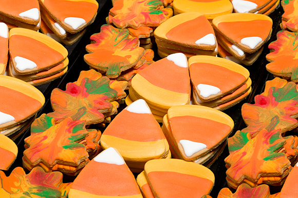 Hand Decorated Candy Corn Cut-Outs 1