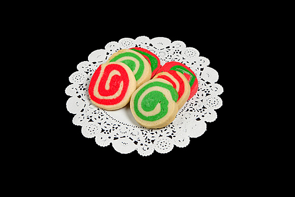 Red and Green Pinwheels