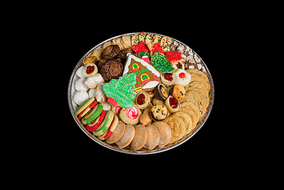 Deluxe Assortment Christmas Cookie Tray