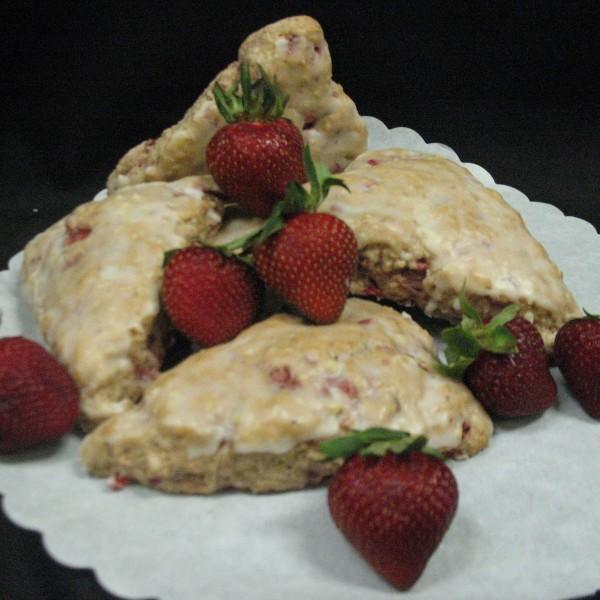Strawberry Scone 1