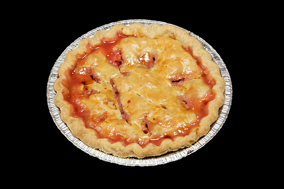 Rhubarb Pie 1