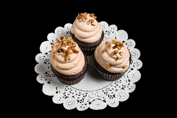 German Chocolate Gourmet Cupcake