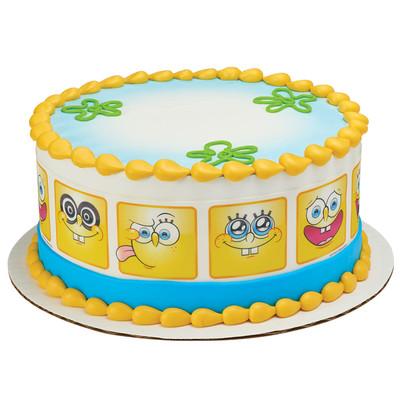 spongebob many faces