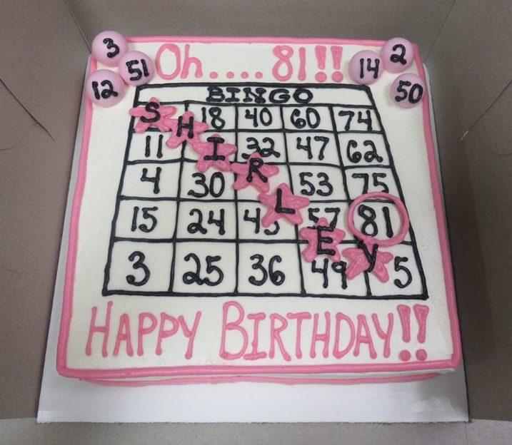 bingo cake grandma s country oven bake shoppe