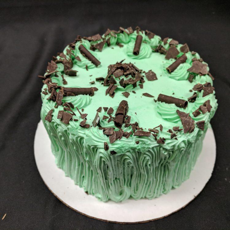 Creme De Menthe Torte