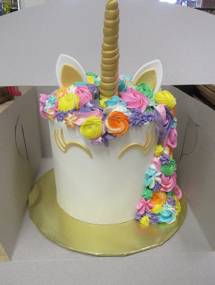 Unicorn Cake Grandma S Country Oven Bake Shoppe