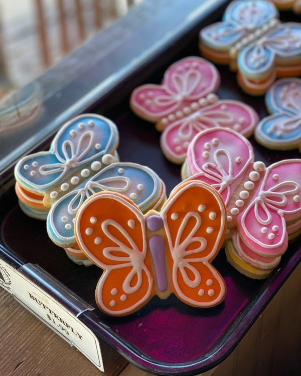 Butterfly Cutout Cookie